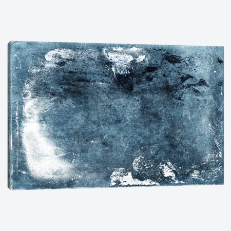 Bluestone Abstract Canvas Print #MVI101} by Mlli Villa Canvas Artwork
