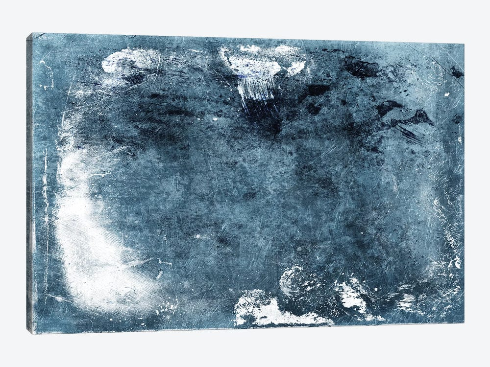 Bluestone Abstract by Mlli Villa 1-piece Canvas Wall Art