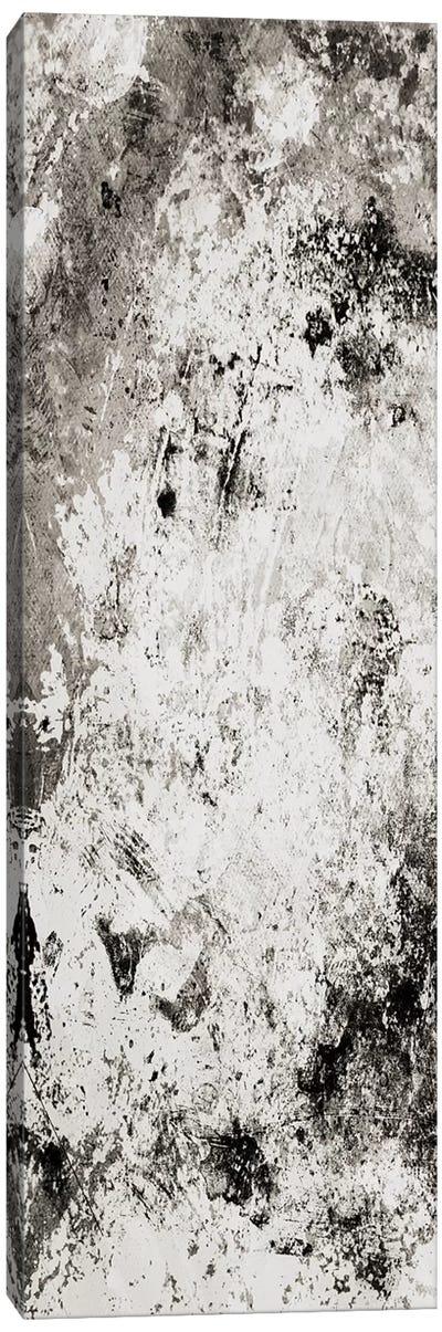Chaotic Calm One Neutral Canvas Art Print