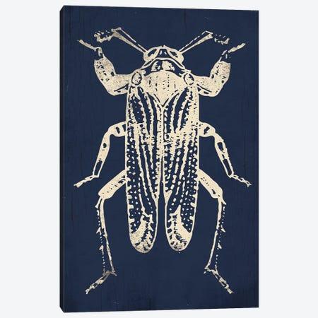 Bug Life Blue Four Canvas Print #MVI113} by Mlli Villa Canvas Print