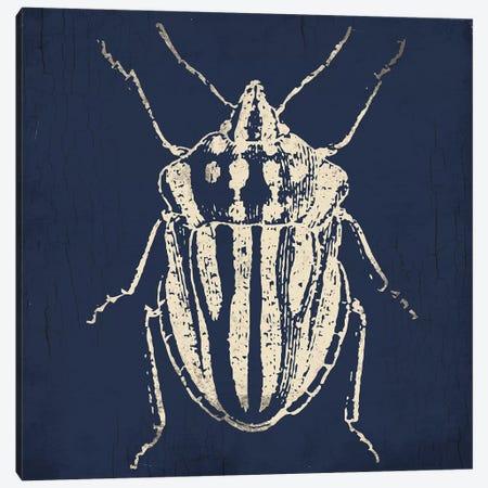 Bug Life Blue III Canvas Print #MVI116} by Mlli Villa Canvas Wall Art