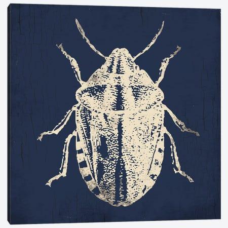 Bug Life Blue IV Canvas Print #MVI117} by Mlli Villa Canvas Artwork