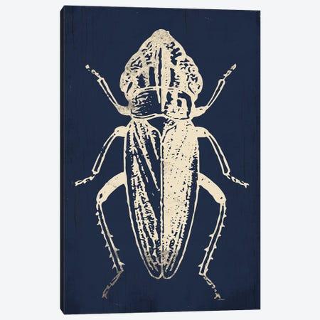 Bug Life Blue Three Canvas Print #MVI119} by Mlli Villa Canvas Art Print