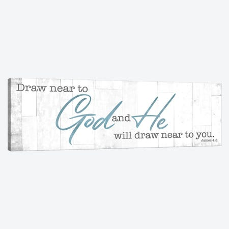 Draw Near Canvas Print #MVI123} by Mlli Villa Canvas Wall Art