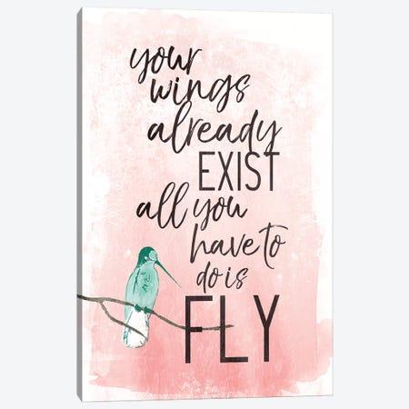 Fly Canvas Print #MVI126} by Mlli Villa Canvas Art Print