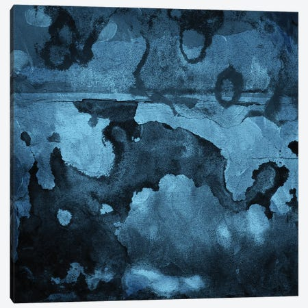 Burn Blue Canvas Print #MVI12} by Mlli Villa Art Print