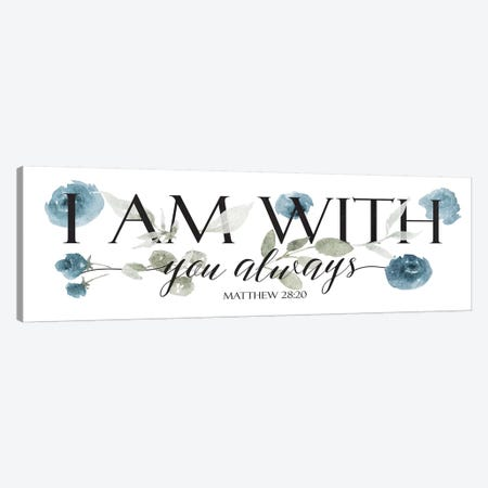 I Am With Canvas Print #MVI135} by Mlli Villa Canvas Art