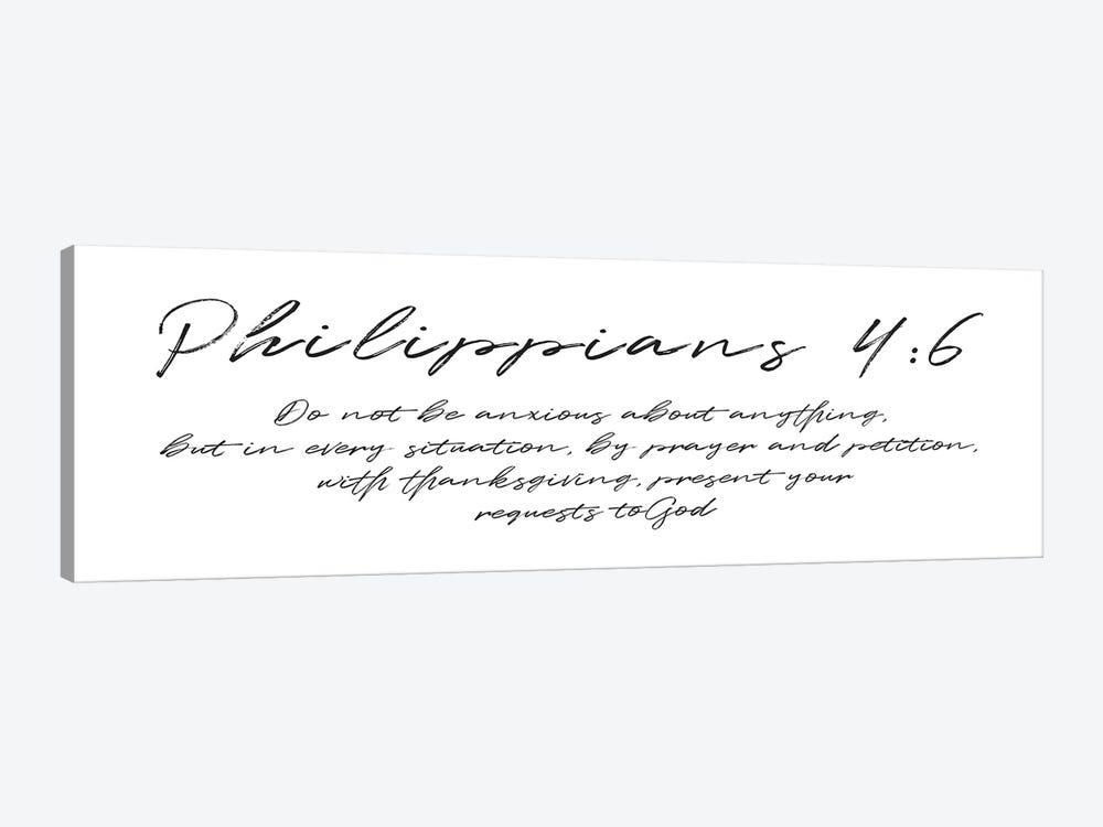 Script Philippians by Mlli Villa 1-piece Canvas Print