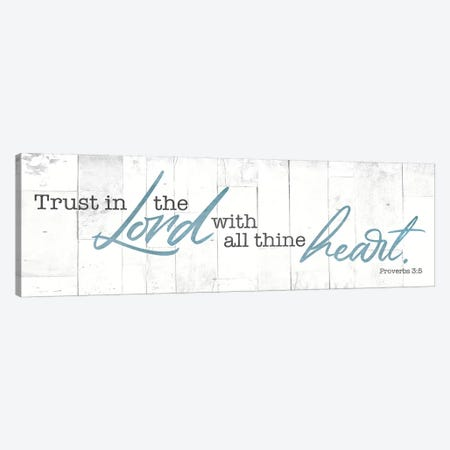 Trust In Canvas Print #MVI152} by Mlli Villa Canvas Print