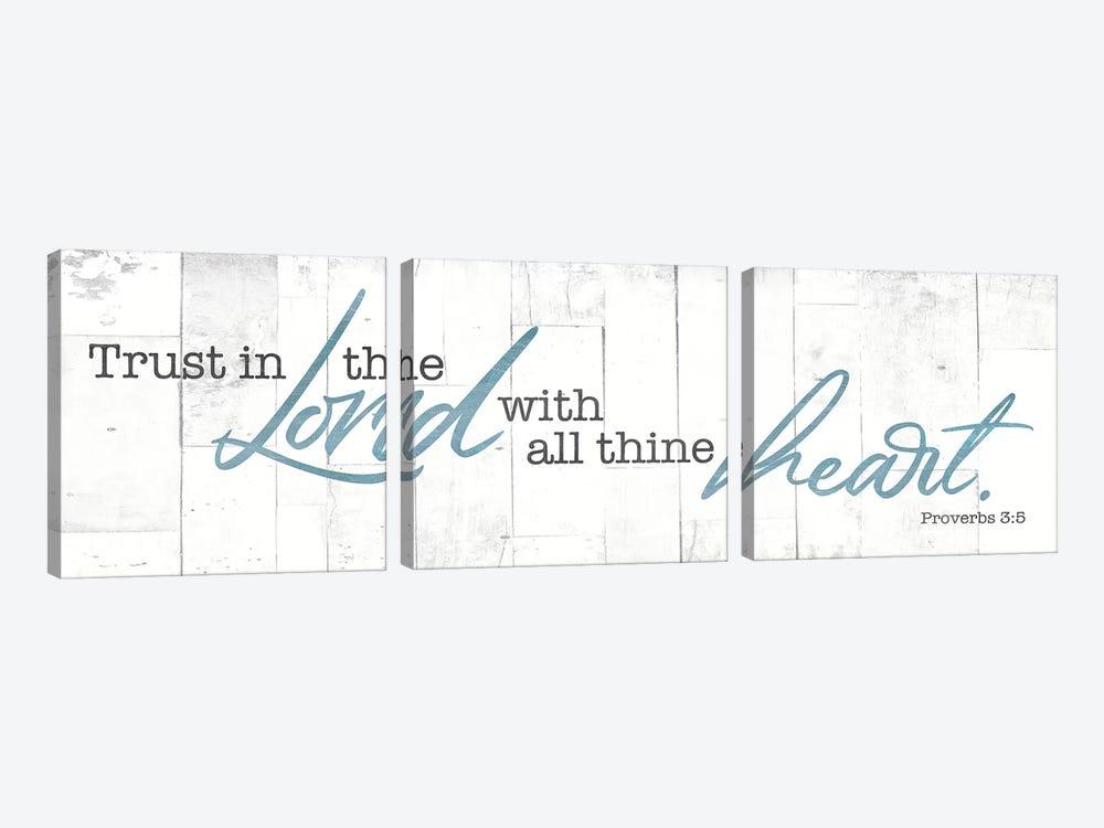 Trust In by Mlli Villa 3-piece Canvas Wall Art