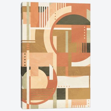 Geo Puzzle Boho Style Canvas Print #MVI158} by Mlli Villa Canvas Art Print