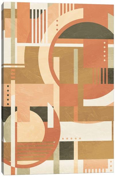 Geo Puzzle Boho Style Canvas Art Print
