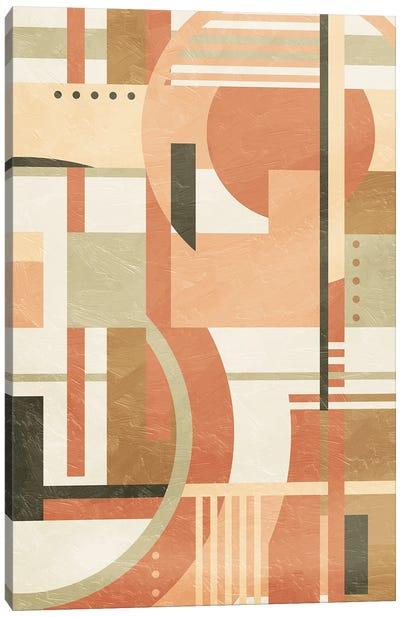 Geo Puzzle Boho Style Mate Canvas Art Print