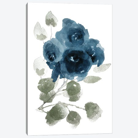 Bluequet Canvas Print #MVI164} by Mlli Villa Canvas Art Print