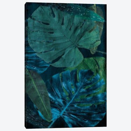 Teal Floral Arrangement Too Canvas Print #MVI181} by Mlli Villa Canvas Art