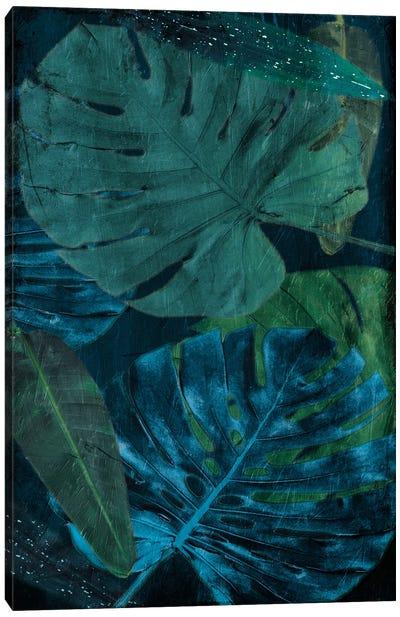 Teal Floral Arrangement Too Canvas Art Print