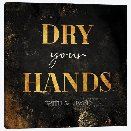 Dry Your Hands Canvas Print #MVI187} by Mlli Villa Canvas Print