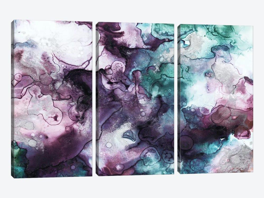 Dark Couds by Mlli Villa 3-piece Canvas Print