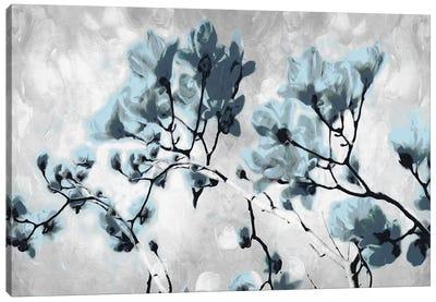 Blue Bloom Canvas Art Print