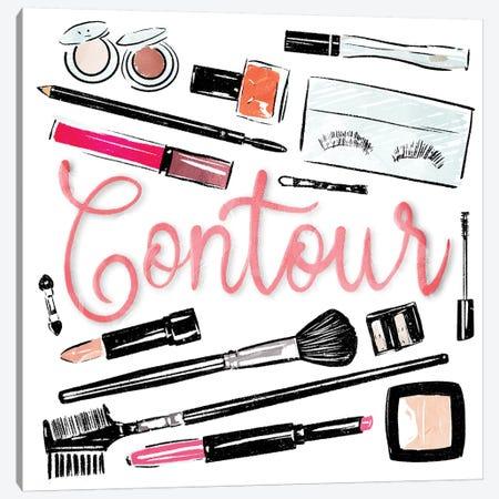 Contour Canvas Print #MVI44} by Mlli Villa Canvas Print
