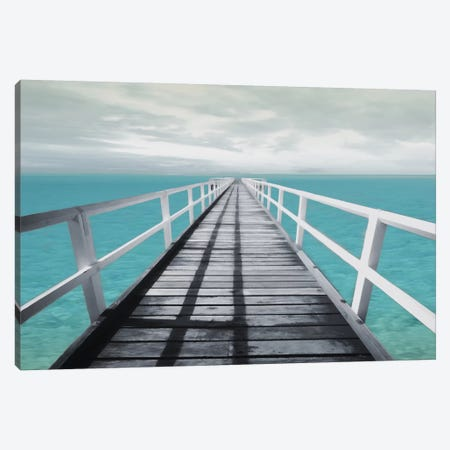 Dock Out Canvas Print #MVI4} by Mlli Villa Canvas Art