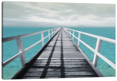 Dock Out Canvas Art Print