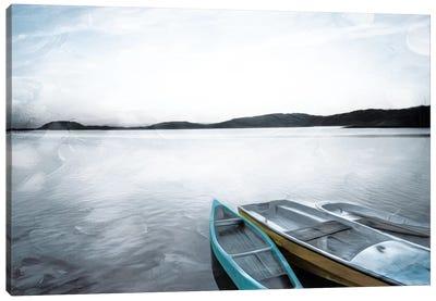 Three Boats Canvas Art Print