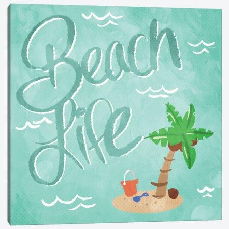 Beach Life 3-Piece Canvas #MVI67} by Mlli Villa Canvas Print