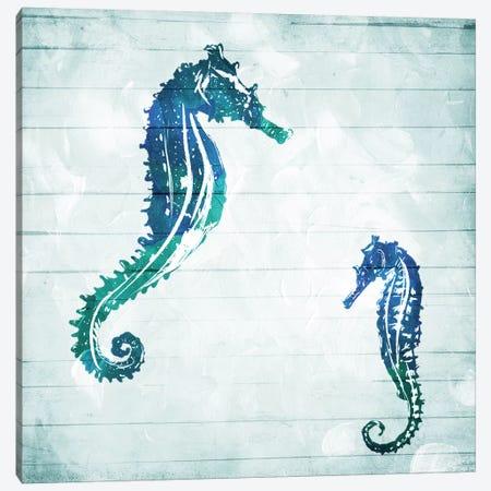 Horses In The Sea Canvas Print #MVI68} by Mlli Villa Canvas Artwork