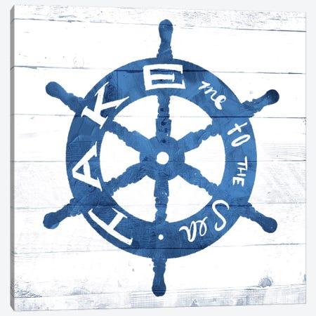 Take Me To The Sea Canvas Print #MVI72} by Mlli Villa Art Print