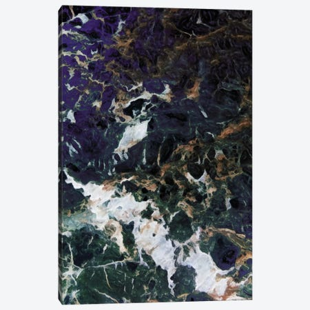 Dark Smog Abstract Canvas Print #MVI7} by Mlli Villa Canvas Art