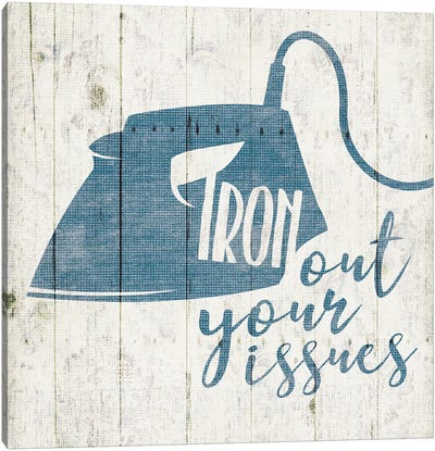 Iron Out Canvas Art Print