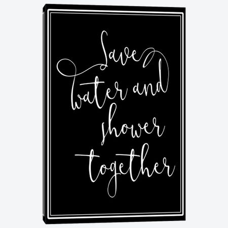 Shower Together Canvas Print #MVI88} by Mlli Villa Canvas Art