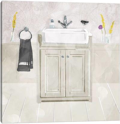 Sink Florals Canvas Art Print