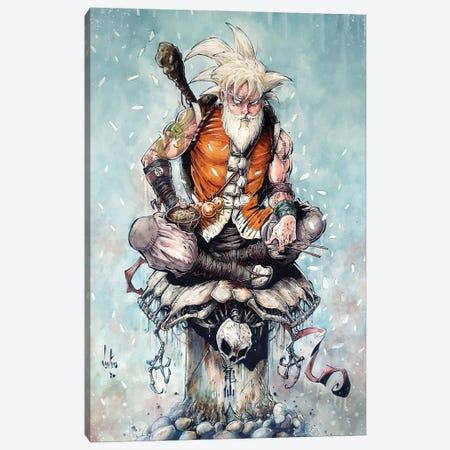 Master Goku Canvas Print #MVN14} by Marcelo Ventura Canvas Art Print