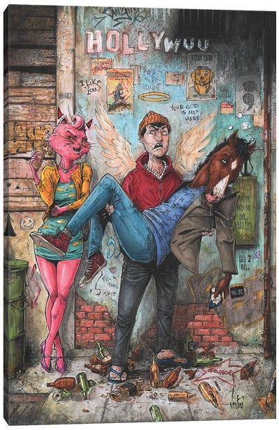 Bojack Horseman Canvas Art Print