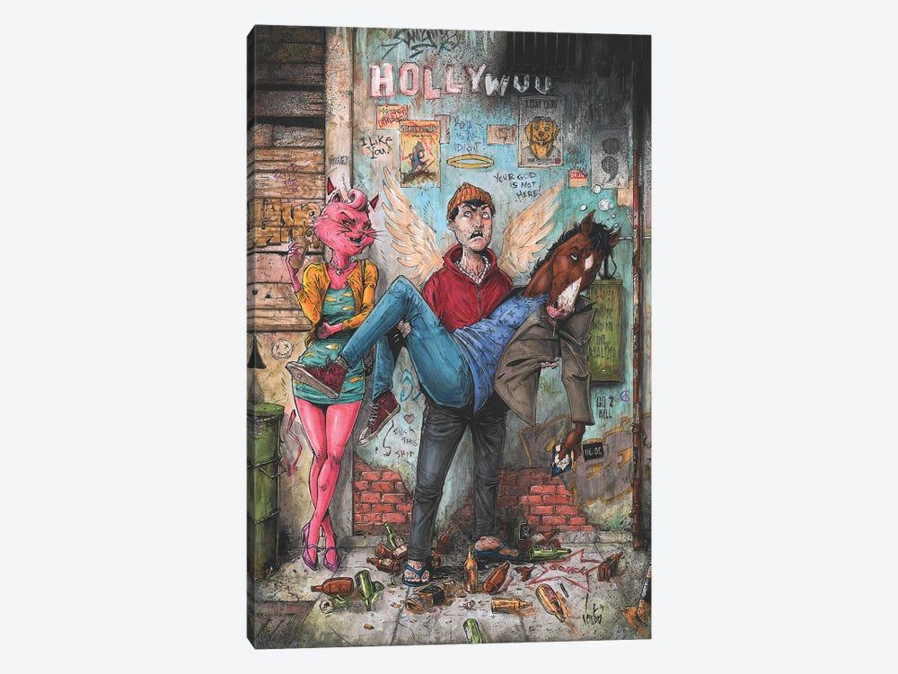Bojack Horseman by Marcelo Ventura 1-piece Canvas Print