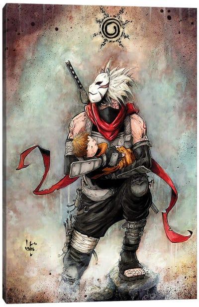 Kakashi Naruto Canvas Art Print