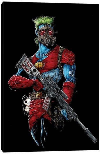 Capitain Planet Ecoterrorist Canvas Art Print