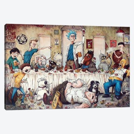 Last Supper Canvas Print #MVN2} by Marcelo Ventura Canvas Art