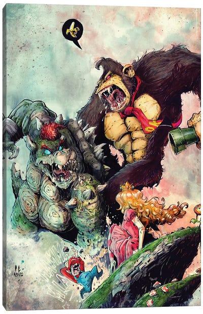 Bowservskong Canvas Art Print