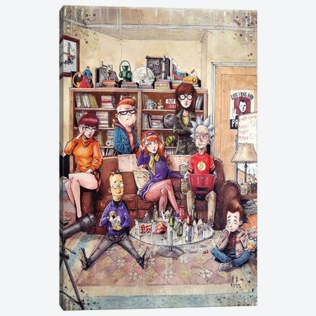 Big Bang Theory Canvas Print #MVN36} by Marcelo Ventura Canvas Print