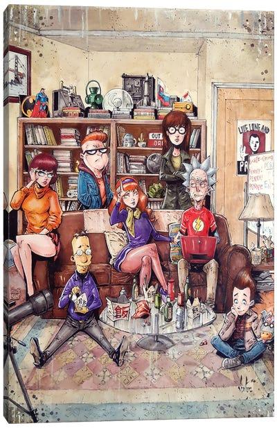 Big Bang Theory Canvas Art Print