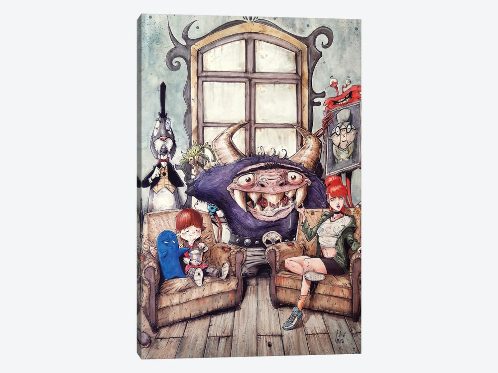 Foster's Home For Imaginary Friends by Marcelo Ventura 1-piece Canvas Art