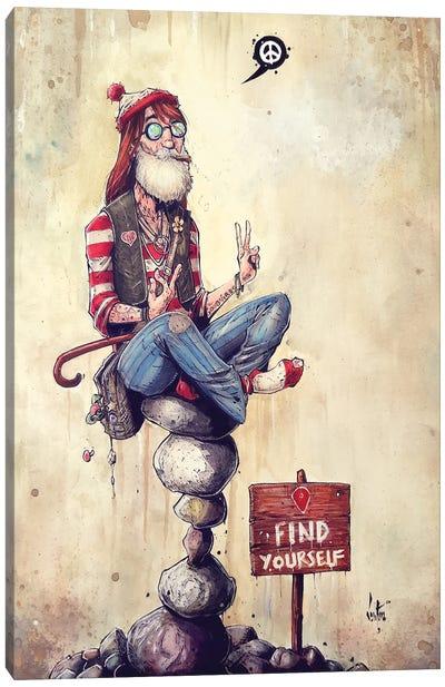 Where's Wally? Canvas Art Print