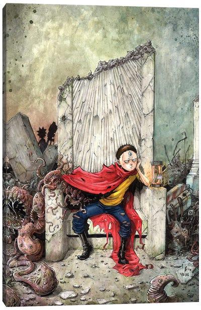 Akira Morty Rises Canvas Art Print