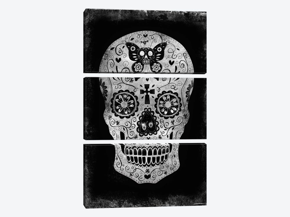 Day Of The Dead 3-piece Art Print