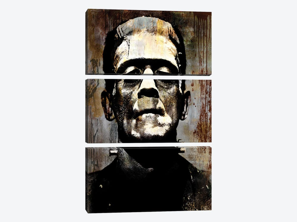 Frankenstein I 3-piece Canvas Print