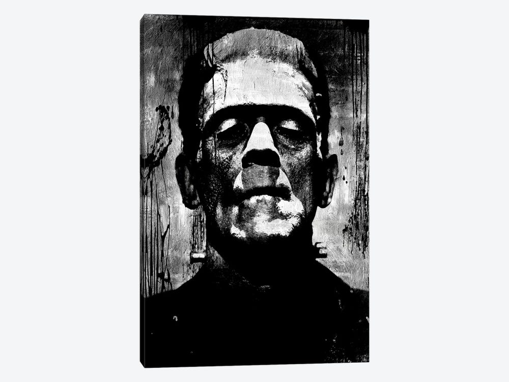 Frankenstein II by Martin Wagner 1-piece Canvas Art Print