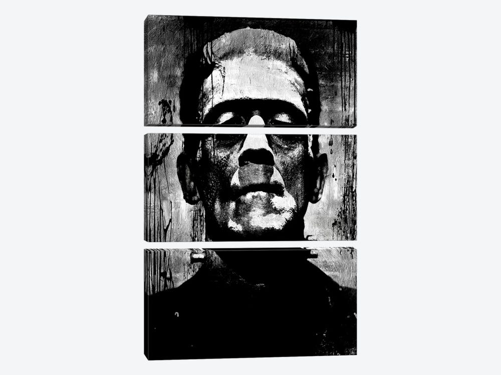 Frankenstein II by Martin Wagner 3-piece Art Print